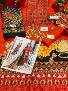 Keval Fab Alija Vol-6 Havy Cotton Pakistani Dress Material ( 6 Pcs Catalog )