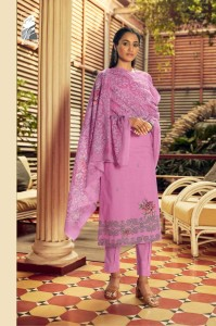 SAHIBA LACE BEAUTY CAMBRIC COTTON WITH HAND WORK SUITS ( 10 PCS CATALOGUE )