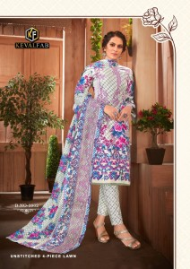 Keval Fab Sobia Nazir Luxury Vol-3 Cotton Pakistani Style Dress Material ( 6 Pcs Catalogue )