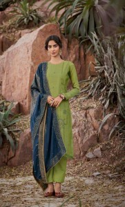 Deepsy Grace Silk Embroidery Dress Material ( 8 pcs Catalogue )