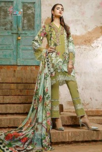 SHREE FABS FIRDOUS EXCLUSIVE COLLECTION VOL 14 NX DRESS MATERIAL ( 5 PCS CATALOG