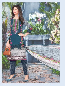 Ishaal Prints Gulmohar Vol-2 Pure Lawn Suit (10 pc catalog)